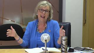 Elizabeth May speaks with Star journalists about fighting climate change