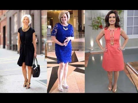 Vestidos Para Señoras De 50 Años Más 2019 Moda