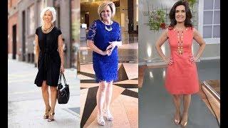 Vestidos para Señoras de 50 años a más 2018