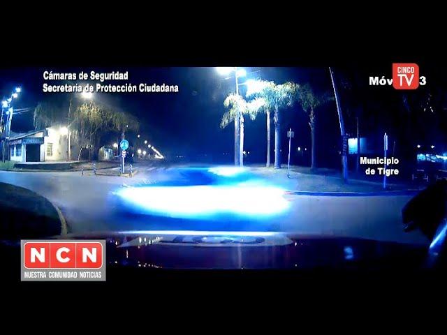 CINCO TV - El COT lo detuvo por conducir a gran velocidad