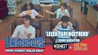 Download THE UNDERDOGS Lecek Tapi Ngetrend Music Video