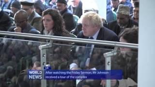 Hazrat Mirza Masroor Ahmad grants Boris Johnson audience