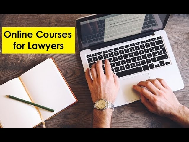 Online Courses for Indian Lawyers
