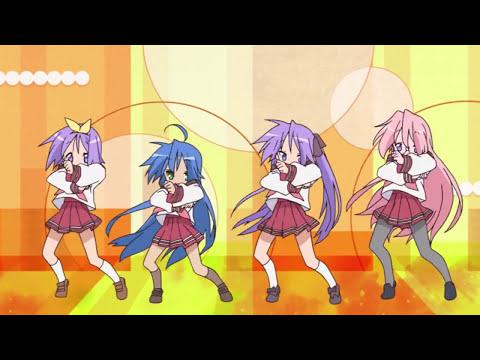 Lucky Star Opening - BluRay 720p らき☆すた
