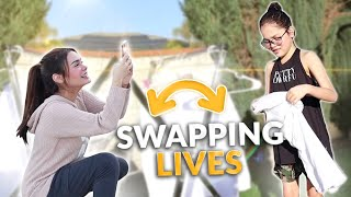 SWAPPING LIVES WITH MY SISTER | IVANA ALAWI