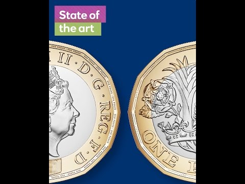The new design - The new £1 coin