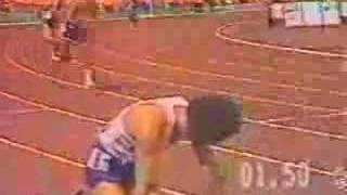 Rubens Barrichello no Atletismo