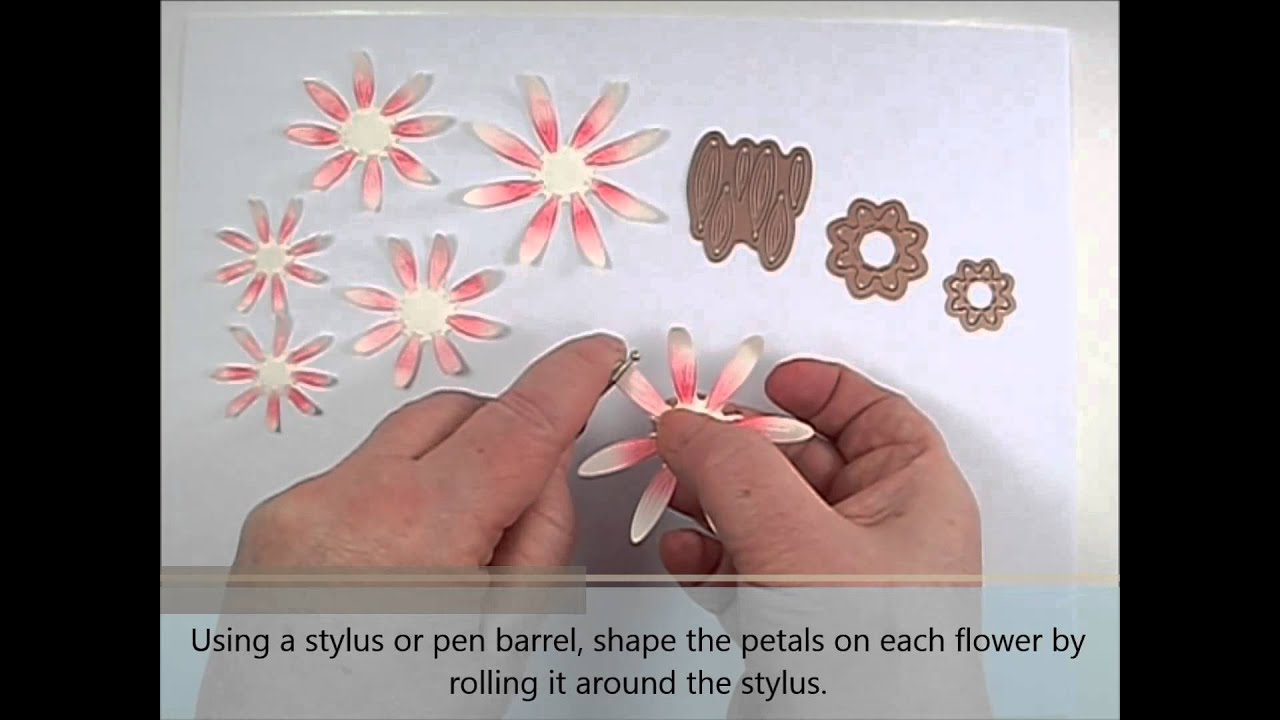 Diy Paper Flower Daisies Youtube