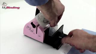 zutter Bind-It-All Personal Portable Wiring Binding Machine Demo