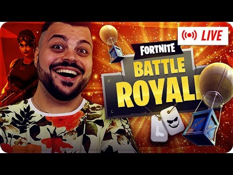 🔴 LIVE FORTNITE OGGI PROVO DA CONSOLE !!! [Fortnite Battle Royale]