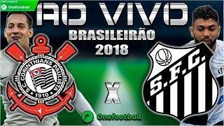 Corinthians 1x1 Santos | Brasileirão 2018 | Parciais Cartola FC | 10ª Rodada | 06/06/2018