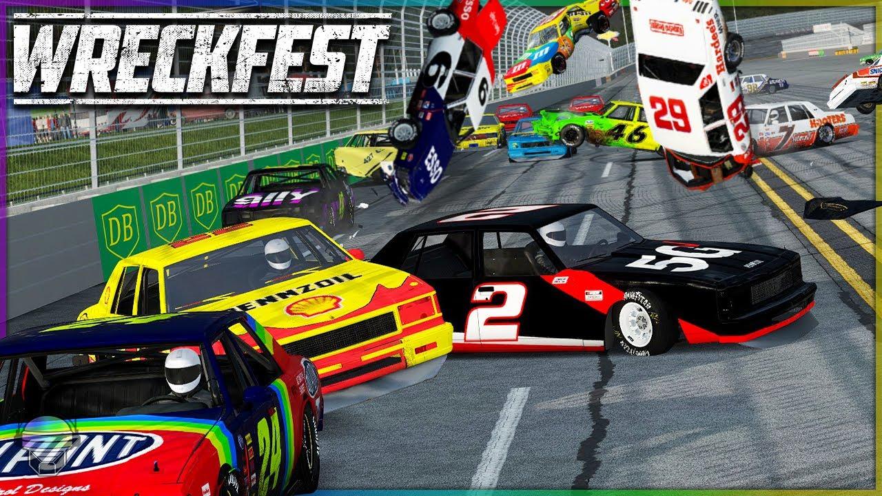 TALLADEGA PINBALL PUNISHMENT! | Wreckfest