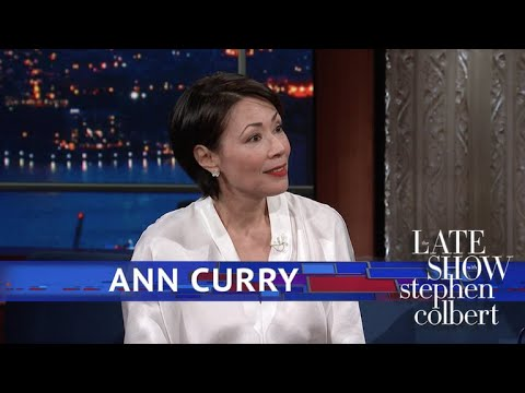 Ann Curry: I Learned To Cuss In The room