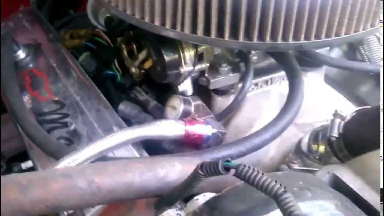 Tbi To Carb Conversion 88 Gmc Youtube Wiring Harness Kit