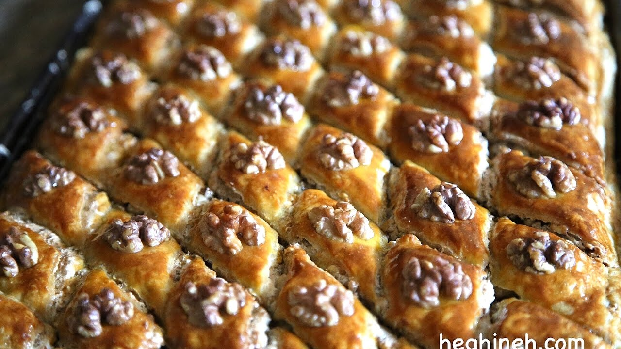 Easy baklava recipe armenian cuisine heghineh cooking for Armenian cuisine