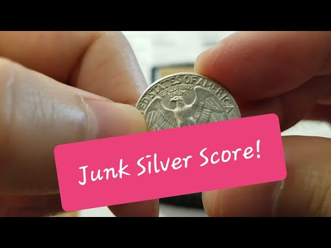 Ebay Pick-Up: 90% Silver Washington Quarters - Great Deals on US Junk Silver Coins