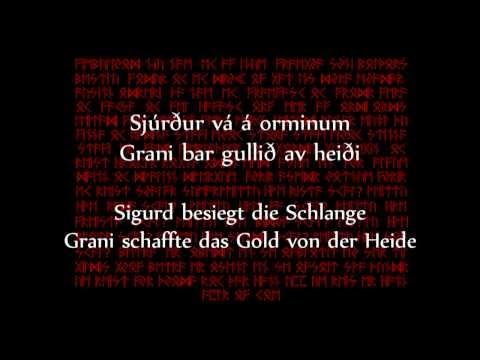 Týr  - Regin Smiður (Text und Übersetzung) mp3