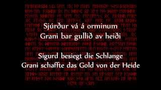 Týr  - Regin Smiður (Text und Übersetzung)