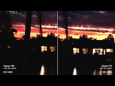 Canon T6 vs Canon T6i - Low Light Comparison & Canon T6 vs Canon T6i - Low Light Comparison - YouTube azcodes.com