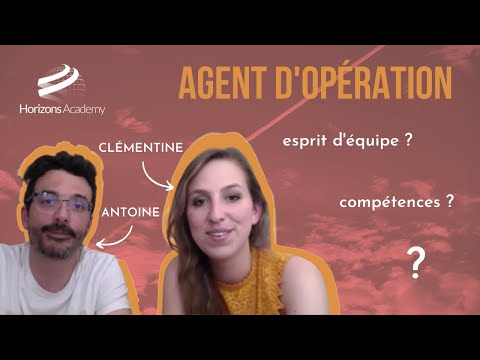 NOS ANCIENS ELEVES VOUS EN PARLENT - Antoine et Clémentine, agents d'opérations