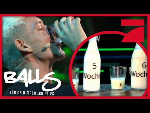 Abgelaufene Milch Trinken | Balls - Für Geld Mach Ich Alles! | ProSieben
