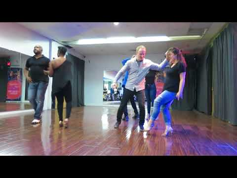 Salsa Amateur Troupe at the San Tropez Practice Party on November 24th 2017
