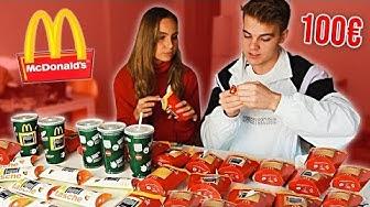 100€ McDonalds MONOPOLY 2018! 😍