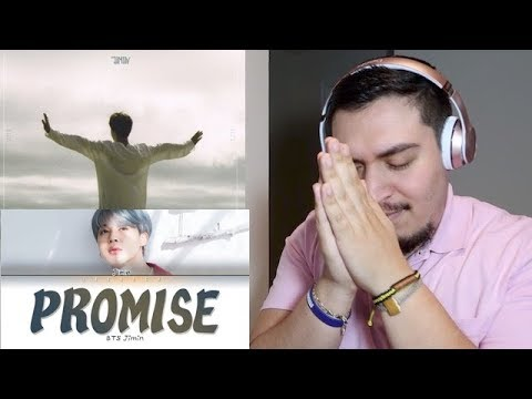 BTS JIMIN (지민) - Promise (약속) + Lyrics REACTION