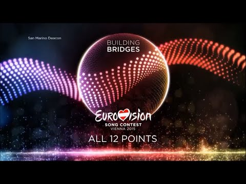 Eurovision 2015 - All 12 Points