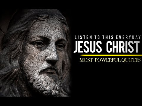 Jesus Christ - WARNINGS!!! and Inspiring Speeches (VERY POWERFUL)