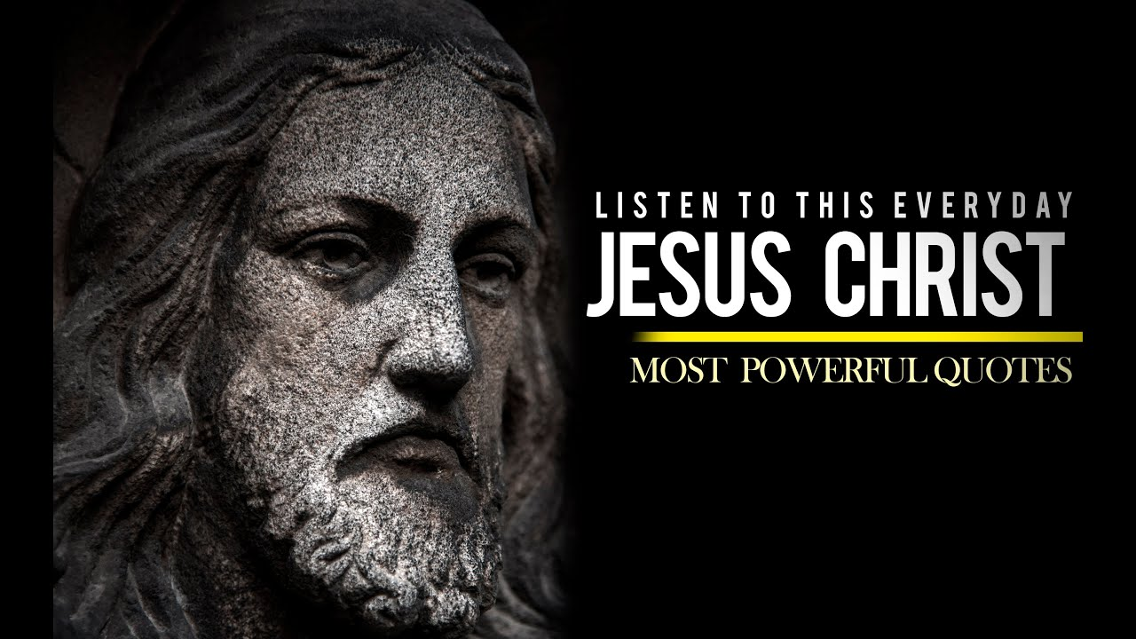 Jesus Christ - WARNINGS!!! and Inspiring Speeches (VERY POWERFUL)
