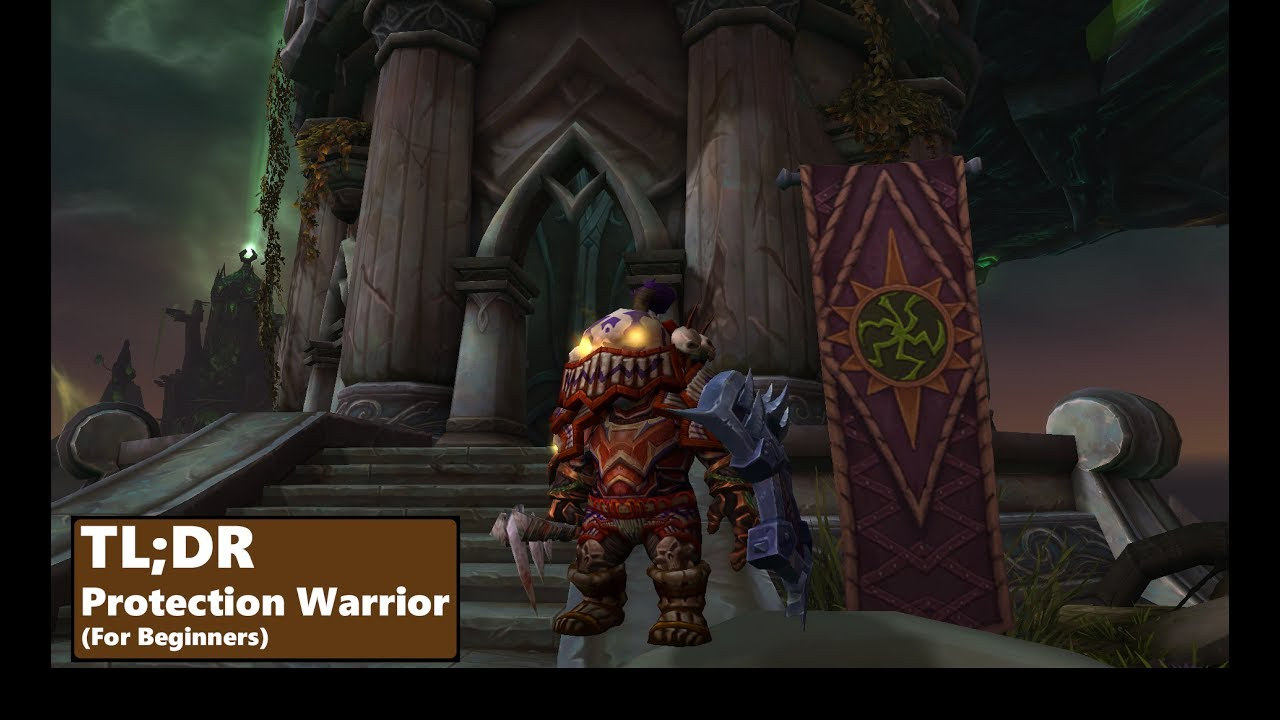 Protection Warrior Guide 7 3   Basics for beginners