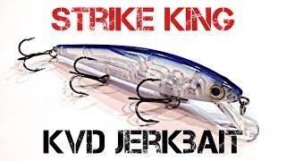 Lure Review- Strike King KVD Jerkbait