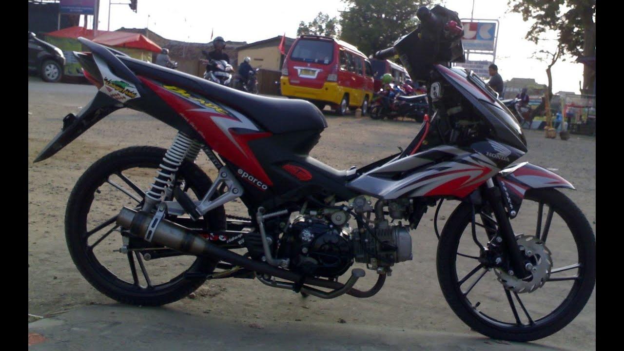contoh modifikasi motor blade 2009