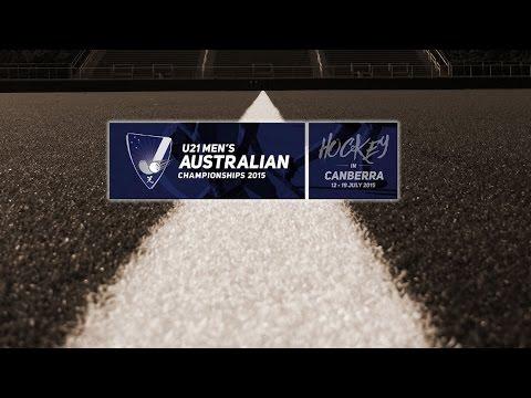 Game 11 - South Australia v Australian Capital Territory - Under 21 Men's Championship 2015