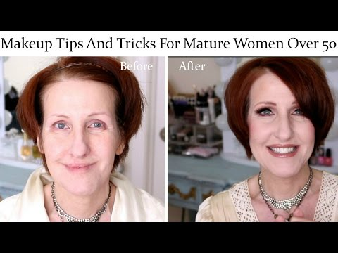 Tips For Applying Makeup Mature Women Over 50