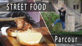Ich besuche Jena - Street Food & Parcour   Felix´s Welt