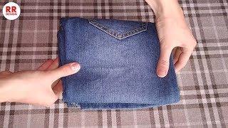 How to Fold Jeans (Genius, Space-Saving Hacks)