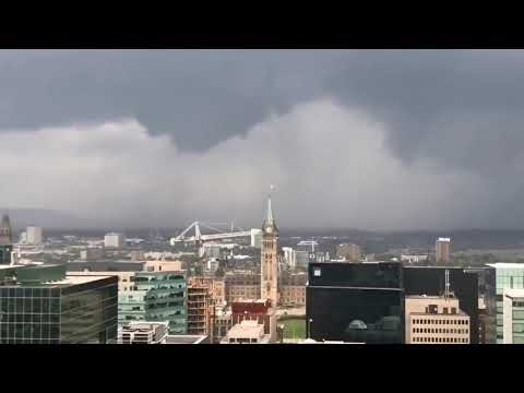 Tornado Canadá - Ottawa - 22-09-18