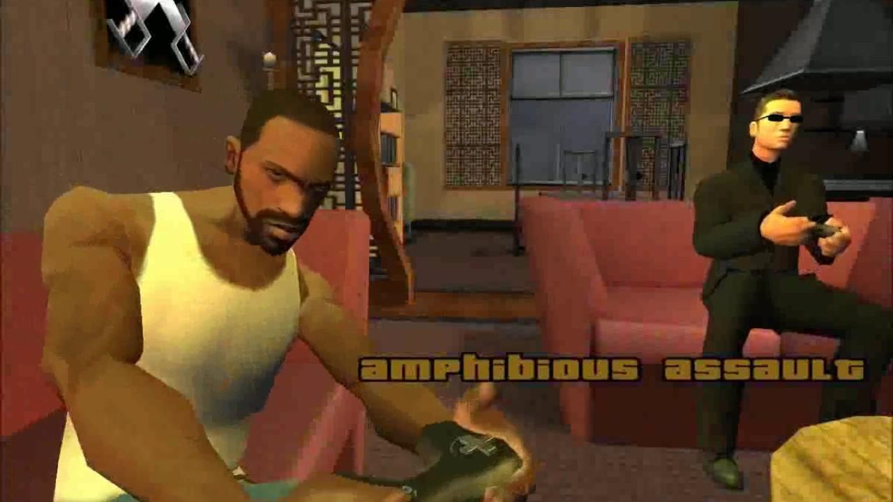 GTA San Andreas - Görev #58 - Amphibious Assault