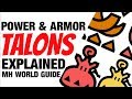 Monster Hunter World Power & Armor & Talons/Charms Guide MHW