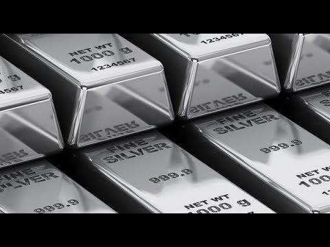 Цена на серебро продолжает падать
