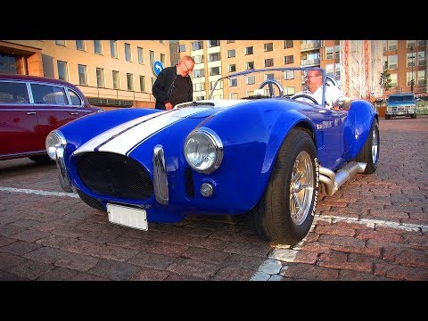 STUNNING AC Cobra 427 Replica - Great V8 Sound!