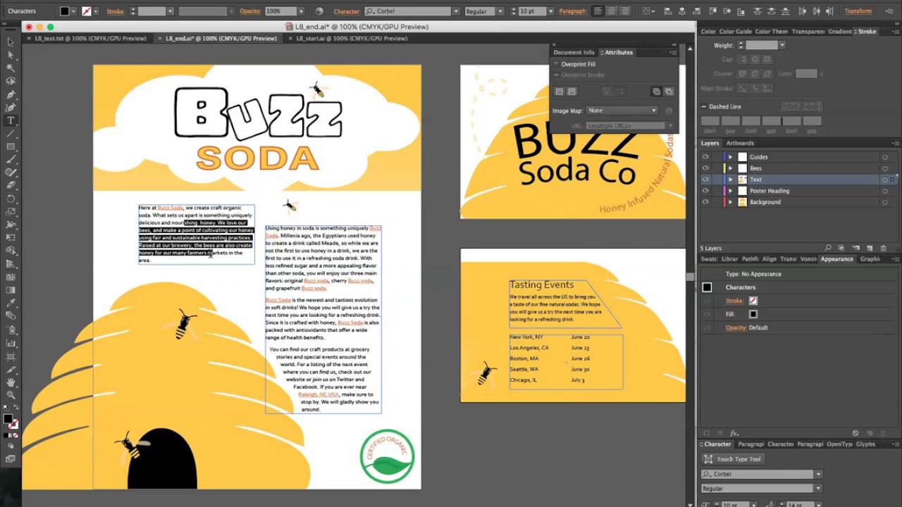 Book color illustrator - Adobe Illustrator Cc 2015 Classroom In A Book Lesson 8 Tips And Tricks