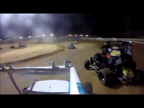 Southern Illinois Raceway | Non-Wing Outlaw A-main | Aug. 6th, 2016 | Collin Wece
