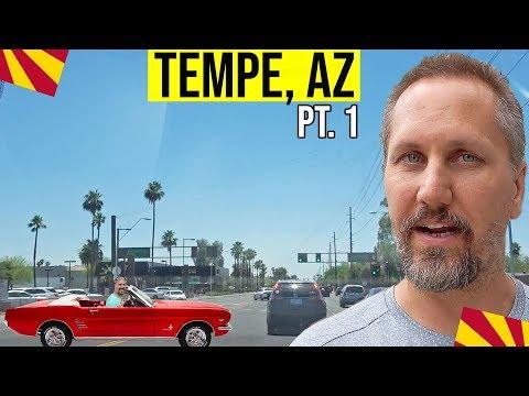 Tempe, Arizona Driving Tour (Pt. 1): Living In Phoenix, Arizona Suburbs