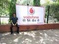 Demonstration against Vodafone for misleading advertisement