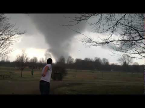 Dexter Tornado, Mi ~Disc Golf  @ Hudson Mills ~  March 15th 2012