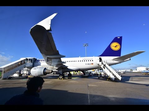Economy class | Lufthansa LH826 Frankfurt to Copenhagen Airbus A319 Flight Review