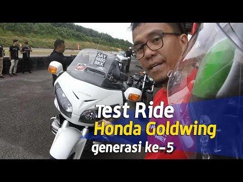 VLOG : Test ride Honda Goldwing generasi ke-5